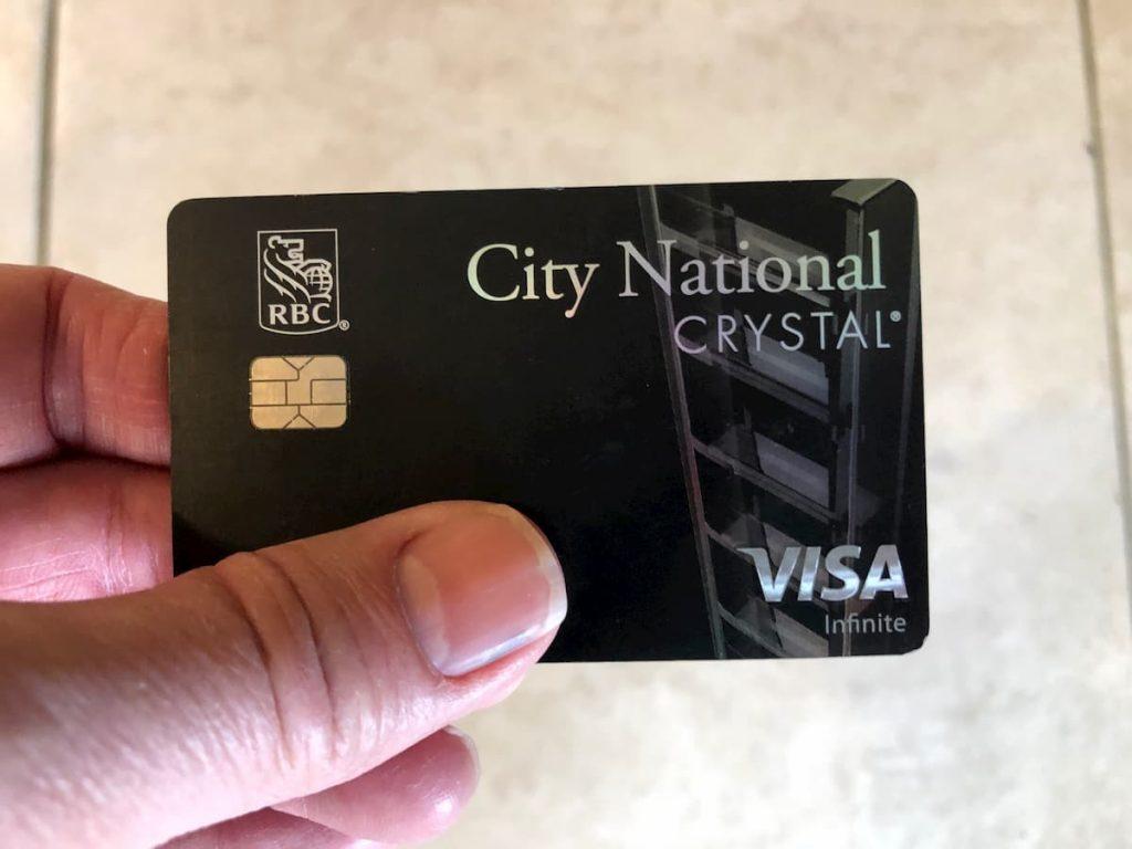 CNB Crystal Infinite Card