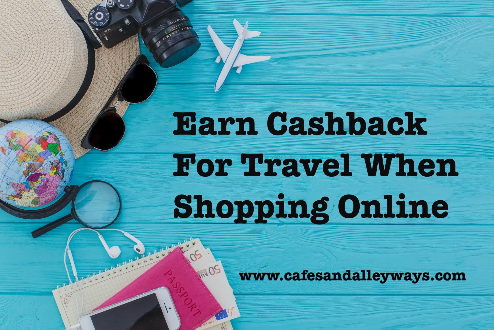 Earn Cash Back When Shopping Online