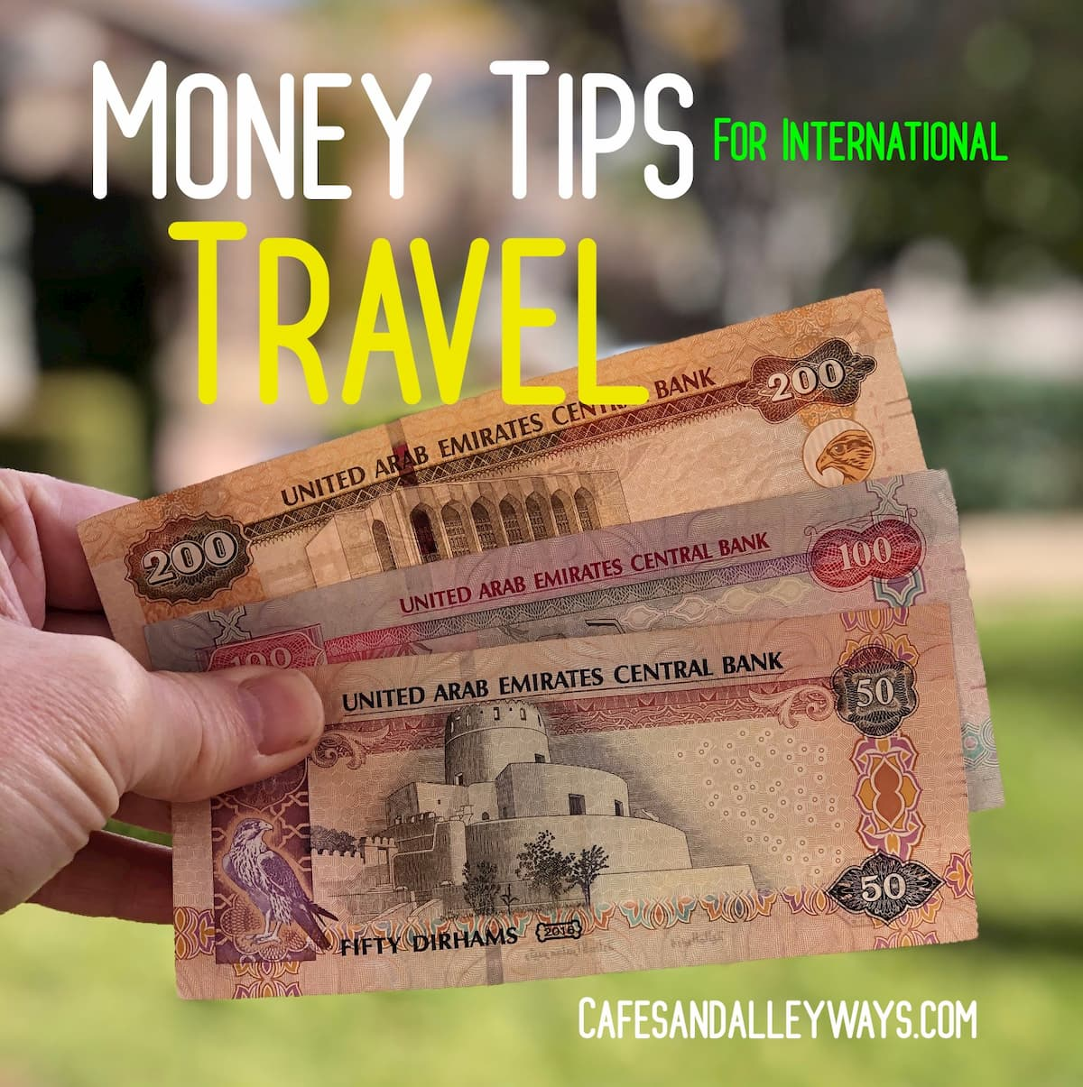 Money Tips for Traveling Internationally