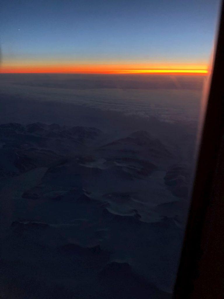 Sunset Arctic Circle