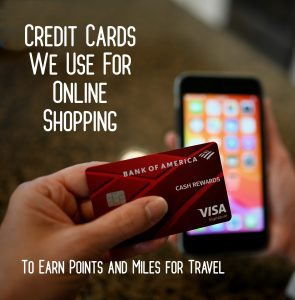 Credit Cards We Use For Online Shopping