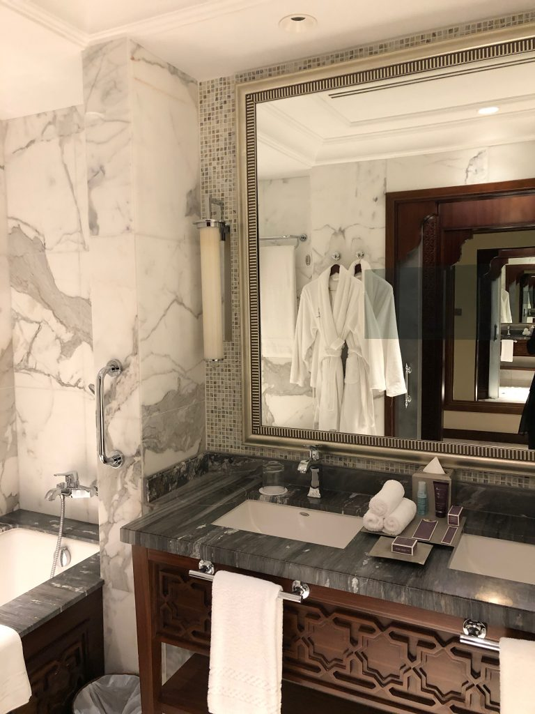 ritz-carton-dubai-bathroom-robes