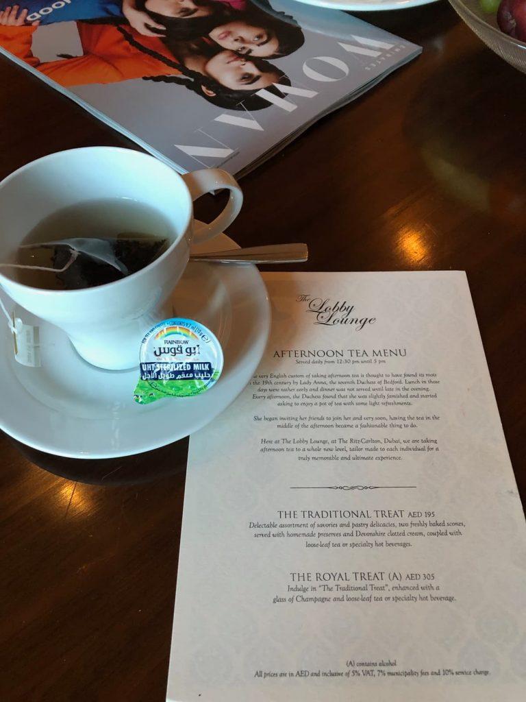 ritz-carton-dubai-tea-invitation
