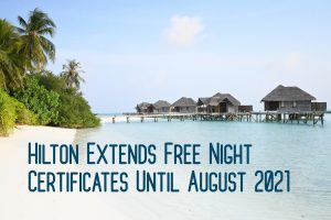 Hilton Free Night Certificate