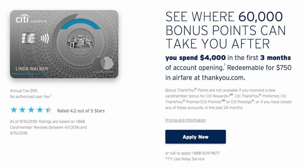 Earn Points Through Credit Card Sign-ups