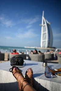 Shimmers on the Beach- Dubai, UAE