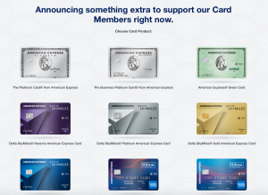 Overview of Amex Covid Benefits