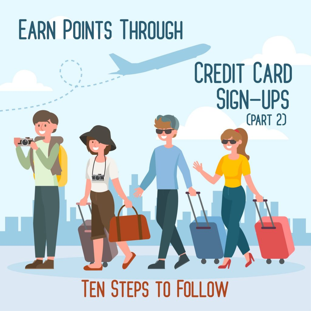 earn points credit cards