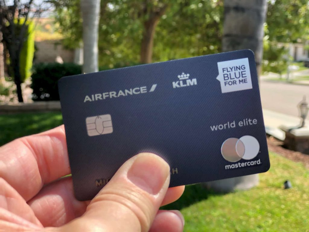 Air-France-credit-card-cafesandalleyways