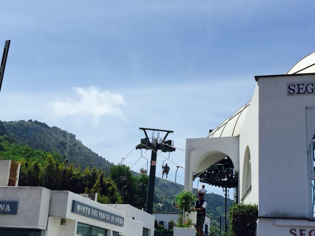 Monte Solara Chairlift Anacapri Italy