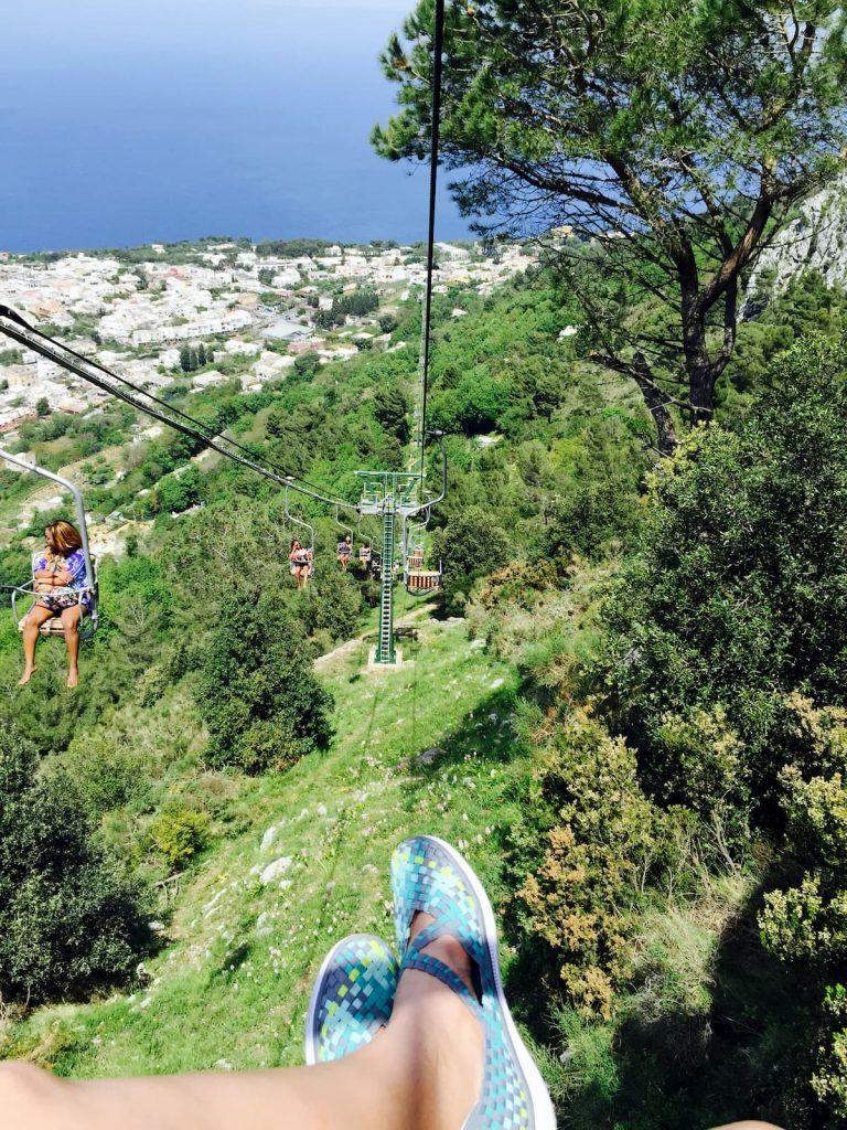 Monte Solaro Chairlift Anacapri Italy