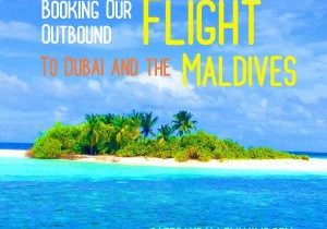 Outbound Flight Dubai Maldives