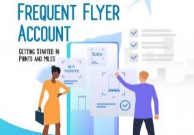 Sign up frequent flyer account